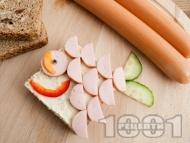 Детски сандвич Рибка